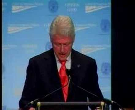 President Clinton at CAP's Common Good Conference Part 4