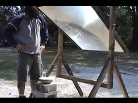 FRESNEL LENS 1 SUN COLLECTOR VINTAGE GREENPOWERSCIENCE