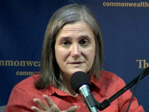 Amy Goodman: Iraq War Reporting Ended Celebrity Journalism