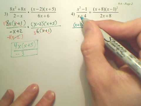 9.4b Rational Expressions
