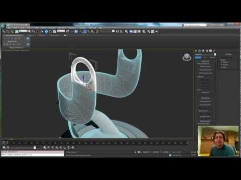 Animating Creation in 3ds Max pt2: microphone base