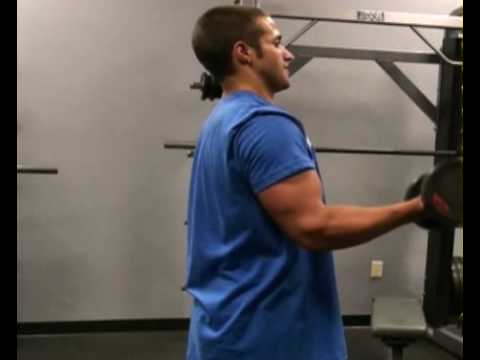 Biceps Curl, Single Arm : BeYourTrainer.com