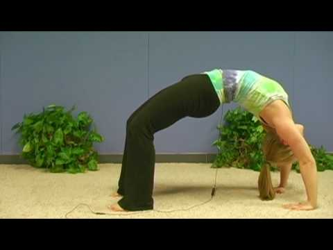 Yoga Poses w/ Sonja 11, Upward Bow Pose, Urdhva Dhanurasana, Yoga for Beginners Asana