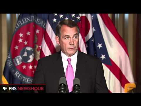 Boehner Says Spending Issue is Preventing Deal
