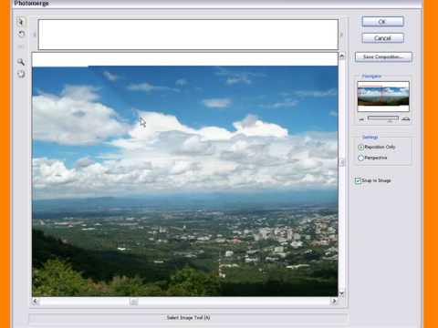 Learn How To Use The Photomerge In Photoshop CS3