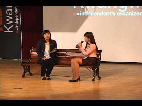 TEDxKwangwoon - Hyang-Mi,Ahn - My life as first Korean woman  baseball player-18/09/10