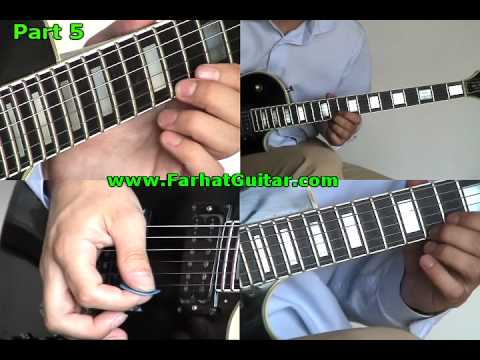 Nothing else matters Metallica Guitar Cover 5 www.FarhatGuitar.com