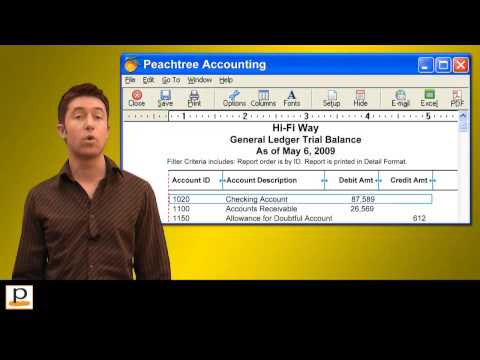Peachtree accounting practice set by Perdisco