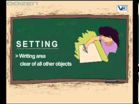 How to write While Sitting