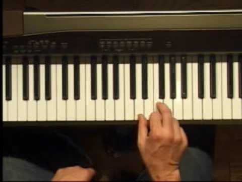 Piano Lesson - Two Note Chords in C (Right Hand)