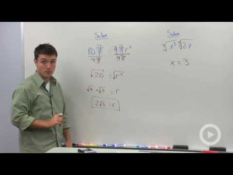 Solving Equations with Squares and Cubes