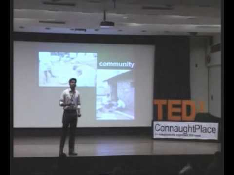 TEDxConnaughtPlace - Anoj Viswanathan - Engaged giving and creating a change from outside the system