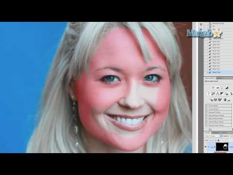 Photoshop Tutorial - Airbrush Skin