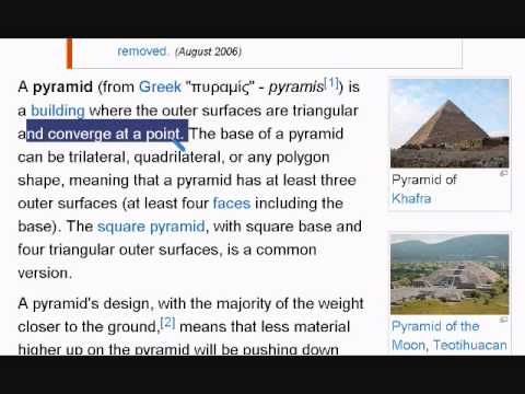 Learn English Reading Lesson #25 Pyramid