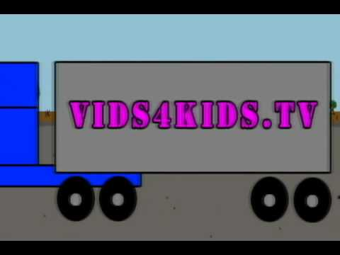 Vids4Kids.tv - Count The Cars, Trucks And Rocket Ships