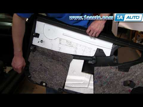 How To Install Remove Door Panel Cavalier Sunfire 95-05 1AAuto.com