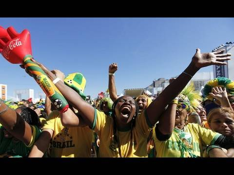 In Brazil, Hope Grows for More Success in World Cup, Global Markets