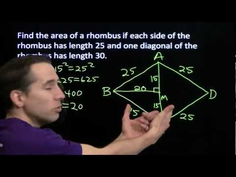 Art of Problem Solving: Introducing the Rhombus