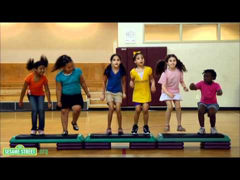 Sesame Street: Jumping With J
