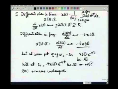 Lecture-42 Properties of Laplace Transform