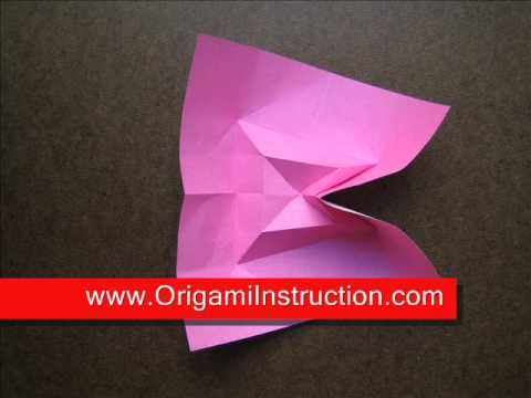 How to Fold Origami Flower Bowl - OrigamiInstruction.com