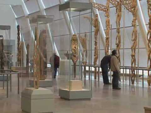 Views of the New Galleries for Oceanic Art