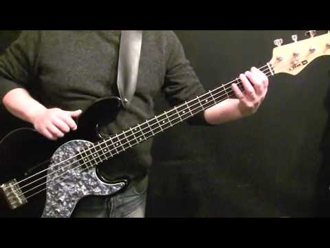 How To Play Bass Guitar to Sherry Darling - Bruce Springsteen - Garry Tallent