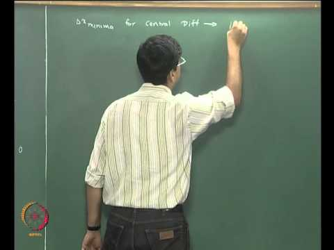 Mod-06 Lec-21 Differentiation and Integration Part 2
