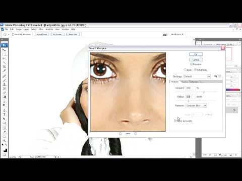 Adobe Photoshop CS3 Ch10 More Accurate Smart Sharpening