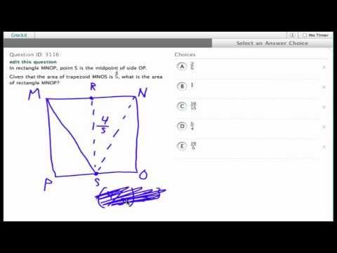 Grockit SAT Math - Multiple Choice: Question 3116