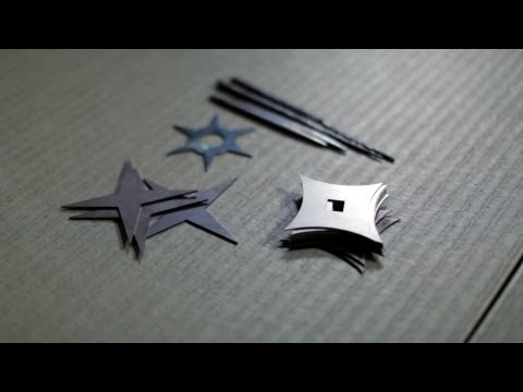 Shuriken Demo and Technique | Ninjutsu Weapons