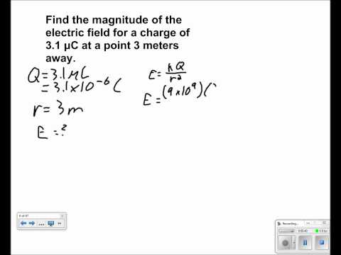 Electric Field and Potential Presentation #01