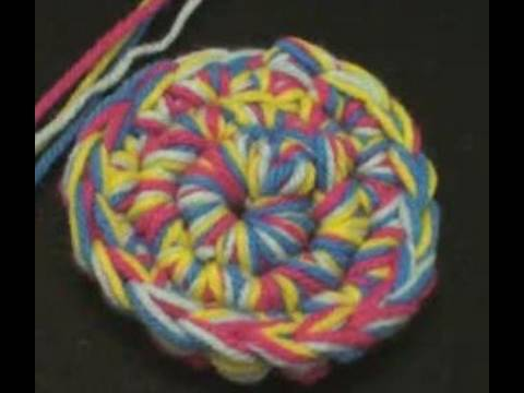 Art of Crochet by Teresa - How to Crochet with Several Strands of yarn