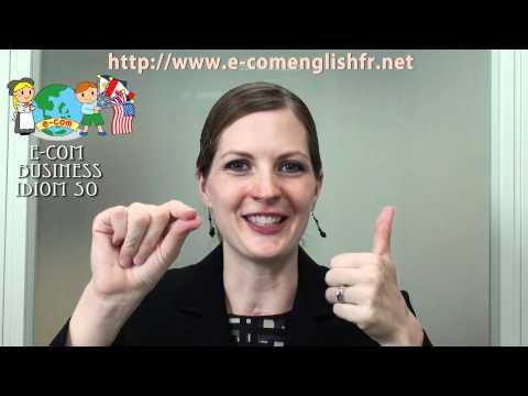 Apprendre l'Anglais en Ligne: Business Idioms 5/50
