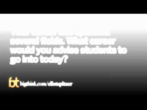 Eliot Spitzer's Advice to Students