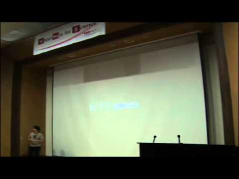 TEDxKAIST - Woonseung Yeo - It's you, KAIST: let's change the world!