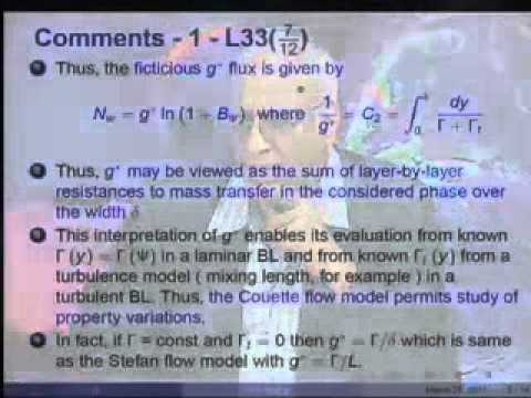 Mod-01 Lec-33 Couette Flow Model
