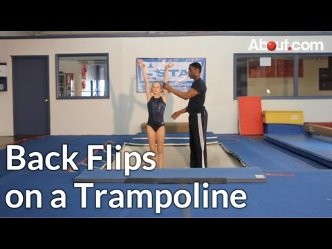Tips for Doing Back Flips on a Trampoline