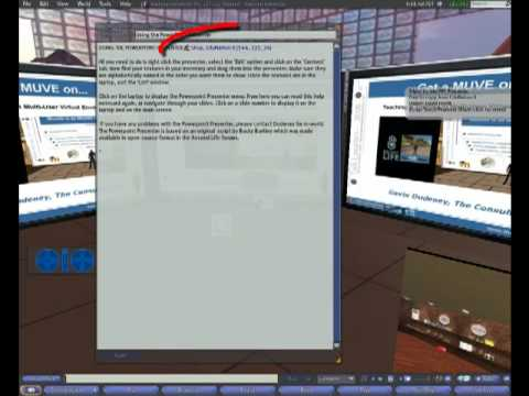 Second Life Teaching Tools: Triple-Screen Viewer
