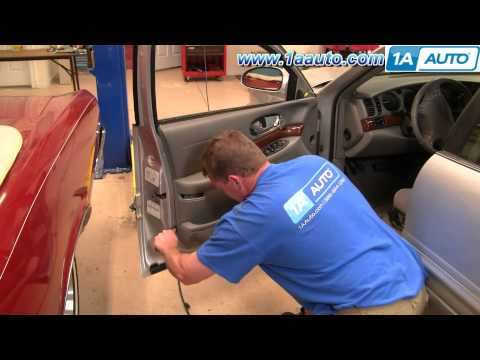 How To Install Repair Replace Power Window Motor Buick Lesabre 00-05 1AAuto.com