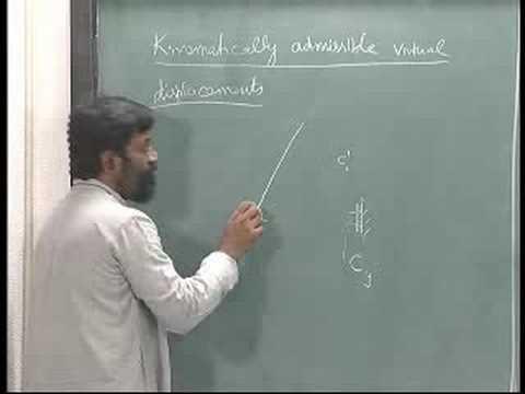 Mechanics of Solids - IITM 3.2 Virtual displacements