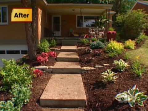 Front Yard Makeover-DIY