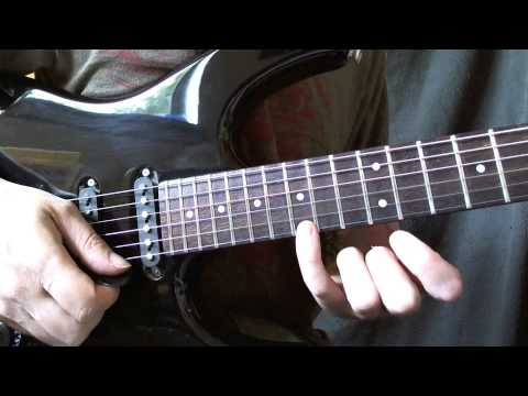 Master of Puppets solo lick lesson