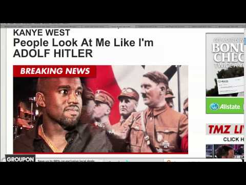 Kanye West Compares Himself to Hitler