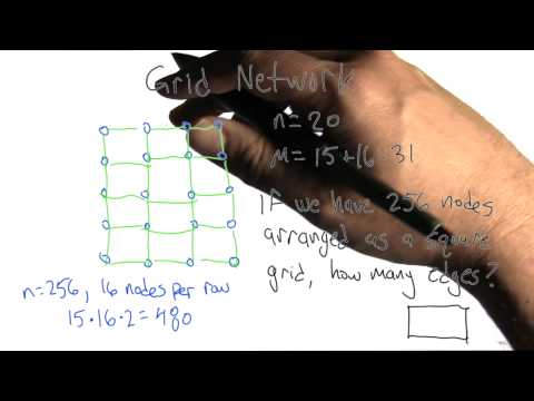 Grid Network Solution - Algorithms - Graphs - Udacity