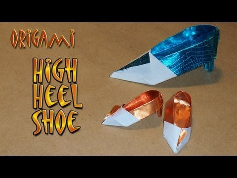 High Heel Origami Shoe by Rachel Katz