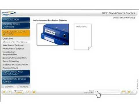 (Demo) GeneEd Video Cast - Good Clinical Practice (GCP)