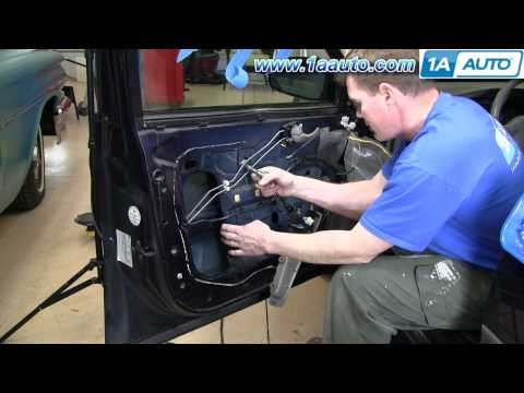 How To Install Repair Replace Power Window Regulator Chevy Impala 00-05 1AAuto.com