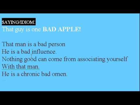 Learn English Idioms Lesson #9