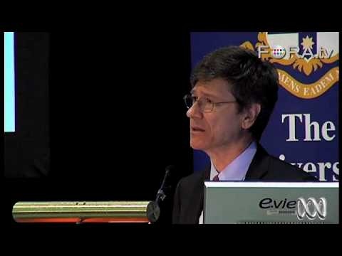 Three Challenges for the Planet - Jeffrey Sachs